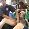 【盗撮】電車に乗り込む気の弱そうな女の子が痴漢被害に遭ってたので記録したった♪