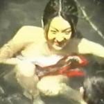 【盗撮】お天気につられて露天風呂に入ったばっかりに恥ずかしい裸体を撮られた淑女たち♪