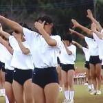 【盗撮】体育祭でブルマダンスを披露するJK集団を半裸で楽しむ男子たち♪