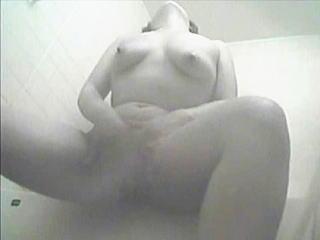 【盗撮】白衣の天使が勤務明けのシャワーで全裸オナニーに及ぶ姿を撮影した不謹慎な入院患者♪
