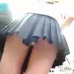 【盗撮】一日数回は狙われているミニスカ制服女子校生たちのパンチラがやっぱり萌えな件♪