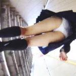 【盗撮】スカメク盗撮された挙句、付きまとい盗撮まで喰らったセーラー女子校生♪
