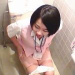 【盗撮】女子社員が多いのにまったくデリカシーの欠片も無い会社の女子トイレ事情♪