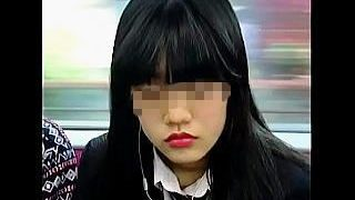 【盗撮】電車内で乗り合わせたJKの座りパンチラを撮り損ねて逆にスイッチが入ったオレ♪