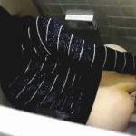 【盗撮】トイレにやってきた女子の小便姿じゃなくケツを拭く姿に悦びと興奮を覚える駆け出しの撮り師♪