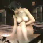 【盗撮】温泉風呂で心底寛いでるプロポーション抜群のお姉さんを心底興奮しながら隠し撮り♪