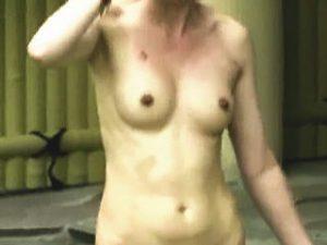 【盗撮】ただただ若い娘の裸よりも裸婦のデッサンに向いてるのは熟女だと確信した露天風呂風景♪