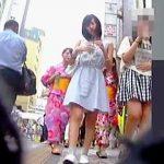 【盗撮動画】休日を利用して都会にやってきた地方の少女たちはパンチラ撮られ放題になってる件♪
