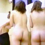 【盗撮】脱衣所で服を脱ぎ捨てて全員が全裸になるまで入浴しない女子グループの銭湯あるある♪