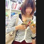 【盗撮】女子大生が多い書店を主戦場に逆さ撮りの腕を磨いてきた凄腕撮り師の修業時代♪