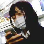 【盗撮】マスク姿の女子校生を見るとセットでパンチラも見たくなるいつものオレの悪いクセ♪