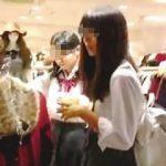 【盗撮動画】予定はなかったのにユルそうな女子校生たちがいて急遽撮った家族サービス中の撮り師♪