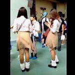 【盗撮動画】平成の時代に風俗嬢レベルにドエロく進化した女子校生たちのチョベリグパンチラ♪