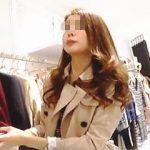 【盗撮動画】コートスタイルの綺麗な店員さんを逆さ撮りしたらキラキラのお嬢様パンティですた♪