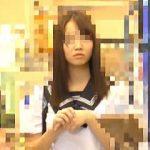 【盗撮動画】電車で痴漢魔に中出しレイプされた純白パンティが良く似合うセーラー女子校生♪
