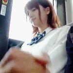 【盗撮動画】変態野郎に勝手にシコシコされてザーメンぶっ掛けられてる可愛い女子校生たち♪