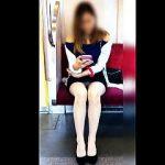 【盗撮動画】男たちが必ず二度見するポテンシャルの美白美脚のお嬢さんの▽パンチラ♪