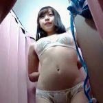 【盗撮動画】ヌキ過ぎ注意!ビキニ試着を隠し撮られたアイドル以上にアイドル級の美少女JK♪