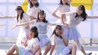 【盗撮動画】ラッキーハプニング!JKダンス部の女の子が晴れのステージで透け乳首を大公開♪