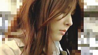 【盗撮動画】痴漢に手マンで逝かされた挙句に中出しレイプもされた美人系スレンダーOL♪