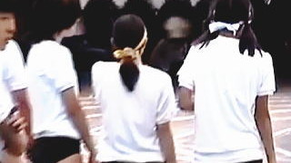 【盗撮動画】お父さんたちがブルマ女子を堂々と撮影できる体育祭が年に一度のお楽しみ♪