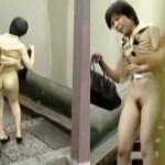 【盗撮動画】暑気払いついでにパンティー穿かずに出歩いた素人お姉さんの破廉恥体験♪