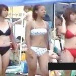 【盗撮】海水浴場にやってくるビキニ女子たちは視姦されることも楽しみにしてると思える件♪