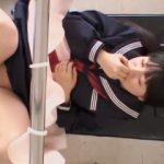 【盗撮】ドクターの大好物なセーラー服でやってきたパイパンツインテール女子学生♪