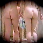 【盗撮】全裸で徘徊する女子たちをピンポイント撮影しまくる豪華スーパー銭湯関係者♪
