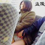 【盗撮動画】パンチラから胸チラや痴漢の現場までスリル満点な市営バスの車内模様♪
