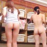 【盗撮】男は中毒必至な桃色フェロモンが充満してる健康ランドの女子風呂脱衣所絶景♪