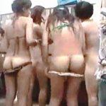 【盗撮】海水浴帰りの水着ギャルが立ち寄る健康ランドの脱衣所は無防備全裸が見放題♪