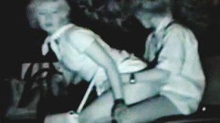 【盗撮動画】デートの締めに夜の公園で暗闇に紛れて野外セックスしてる破廉恥カップルたち♪