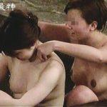 【盗撮】雰囲気バツグンの温泉風呂でハダカの付き合いしてるモチモチ肌の女子たち♪