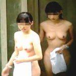 【盗撮】超S級素人女子たちの裸が見放題の抜き放題で覗き依存症を患うマニアが多発する露天風呂♪