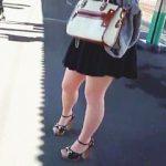 【盗撮動画】駅で見かけたターゲット女子たちのスカート捲ってみたら全く期待を裏切らない風景ですた♪
