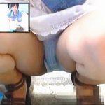 【盗撮動画】フリマで値切ってきた女の子のしゃがみパンチラ頂いてからお値打ち価格で交渉成立♪