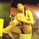 【盗撮】スーパー銭湯の洗い場でスレンダーな裸体を隣の女撮り師に狙い撮りされた女の子♪