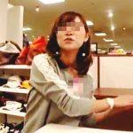 【盗撮動画】ゴルフウエアショップで働く店員さんを逆さ撮りしたらスポーティーなパンチラですた♪