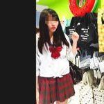 【盗撮】ミニスカひらひらさせて買い物してる女子校生たちはむしろパンチラを楽しんでる件♪