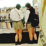 【盗撮】放課後に買い物で徘徊してるミニスカJKたちはパンチラ観られたくて仕方がない件♪