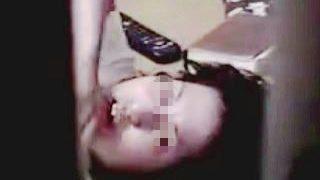 【盗撮動画】自室オナニーで昇天と同時に覗きカメラの存在に気付いて思考停止してる素人女子♪