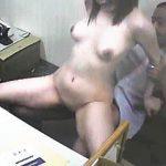 【盗撮動画】性処理要員として採用した巨乳OLと会社でセックスしてる呆れたウチのセクハラ社長♪