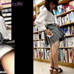 【盗撮動画】書店で立ち読みしてたら発情した撮り師にザーメンぶっ掛けられた気の毒な女の子♪