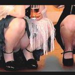 【盗撮】着飾った女子たちが競うようにパンチラ胸チラ晒してるパーティー会場の桃色露出風景♪