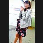 【盗撮動画】パンチラターゲット願望がありそうな美脚の花柄ワンピ女子を望み通りスカメク撮り♪