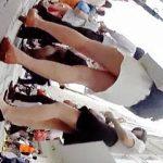 【盗撮動画】破廉恥なエロスを纏ったパンチラが楽しめる休日の街を彩る清楚系の素人女子たち♪