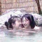 【盗撮動画】これは絶対アカンやつ!家族と温泉旅行にやってきたリトルマーメイド姉妹を隠し撮り♪