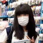 【盗撮動画】咳エチケットは完璧なのにパンチラエチケットはユルユルなマスク少女を逆さ撮り♪