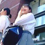【盗撮動画】道案内してくれた親切な女子校生のクッキリ鮮明なリアル生パンチラで抜きまくり♪